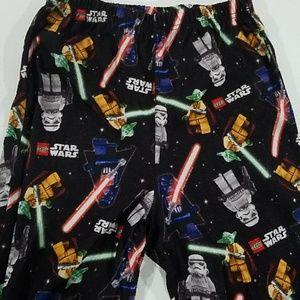 Boy' Lego Star Wars Pajama pj pants 10/12